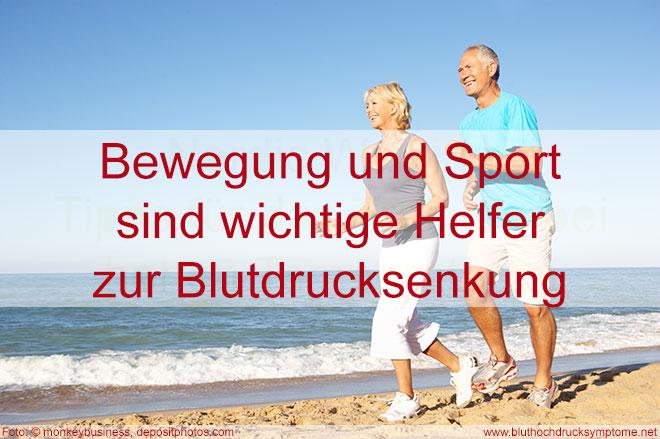 Bluthochdruck senken – durch Sport und Bewegung © Volker Abels - bluthochdrucksymptome.net