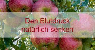 Mit Äpfeln und gesunder Lebensweise den Blutdruck senken.
