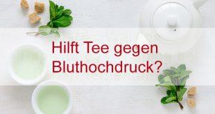 Grüner Tee wird auch als Getränk zur Reduzierung des Blutdrucks verwendet.